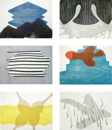 Alison WILDING - Print-Multiple - Chamber works