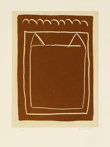 Joan HERNANDEZ PIJUAN - Print-Multiple - La casa desde la que se divisa el campo IV