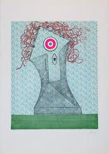 Enrico BAJ - Estampe-Multiple - Baj chez Picasso