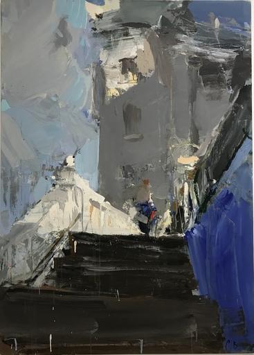 Vladimir SEMENSKIY - Painting - Walk