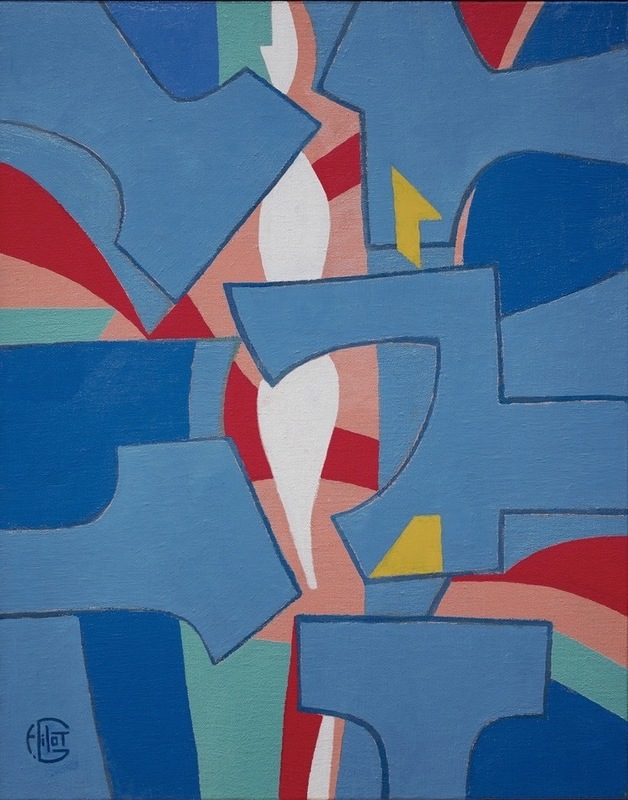 Françoise GILOT - Pintura - Celebration