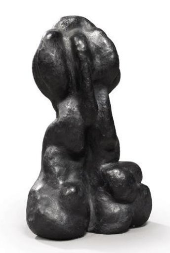 François STAHLY - Sculpture-Volume - Le Poing, 1986