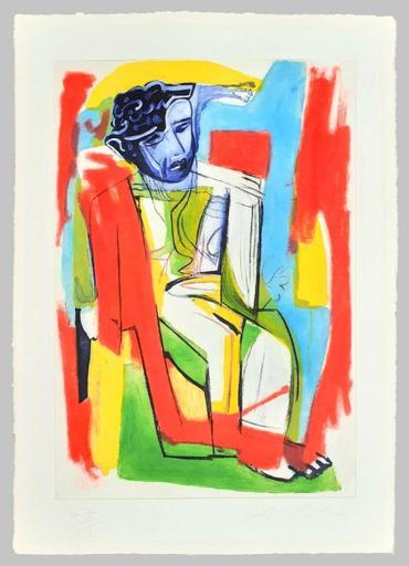 Sandro CHIA - Estampe-Multiple - Composizione