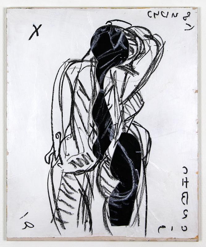 Christian BONNEFOI - Gemälde - Dos