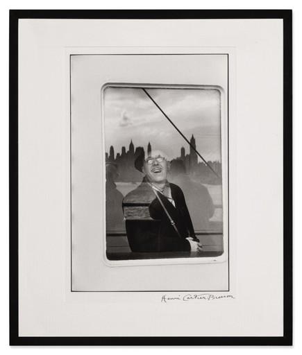 Henri CARTIER-BRESSON - Photography - TRANSATLANTIC LINER ARRIVING IN THE HARBOR, NEW YORK CITY