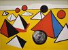 Alexander CALDER - Estampe-Multiple -  Composition VI, from The Elementary Memory | La mémoire élé