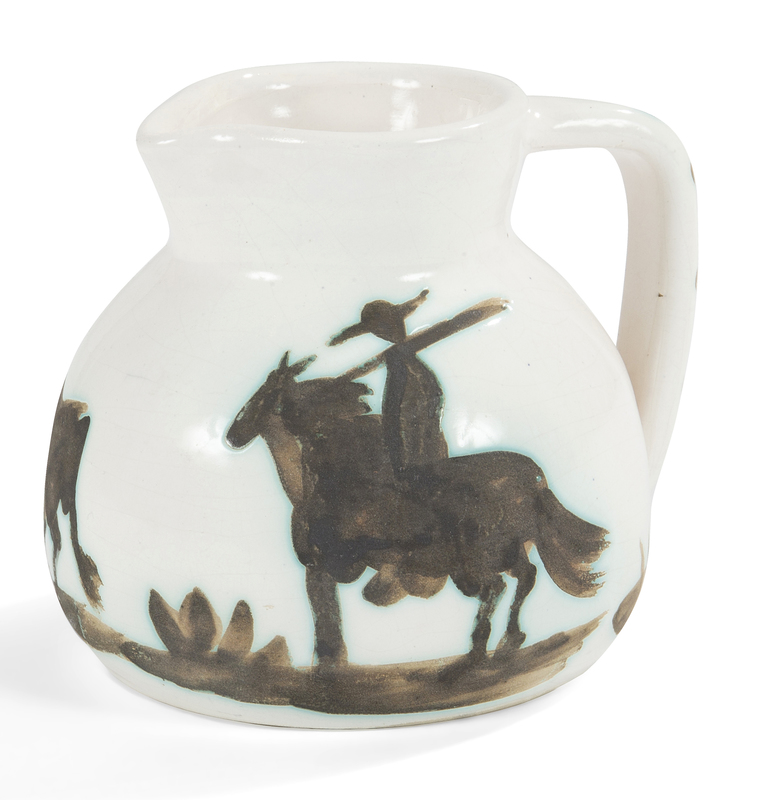 Pablo PICASSO - Ceramic - Taureau et Picador