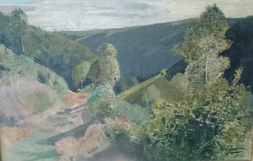 Léon FREDERIC - Pintura - landschap nr 2