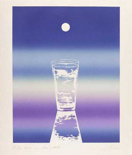 James ROSENQUIST - Grabado - My mind is a glass of water