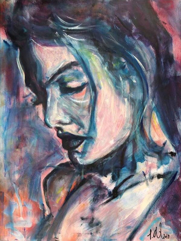 Simon ABT - Painting - Paris