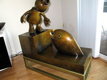 Tom OTTERNESS (1952) - Princess with Magic Fish