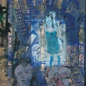 Zvi MILSHTEIN - 绘画 - Chambre à Manhattan