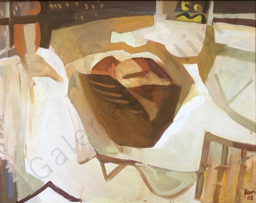 Francisco BORES - Painting -  Bodegón