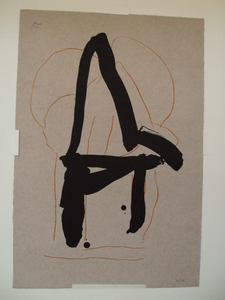 "Robert MOTHERWELL, ""Beau Geste IV"" 1989"