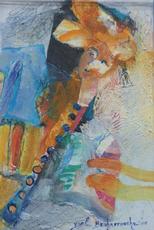 """Yoel BENHARROUCHE - Painting - """"De facetten van het leven"""""""