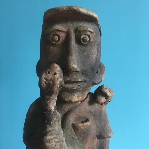 Seni Awa CAMARA - Sculpture-Volume - Snake man