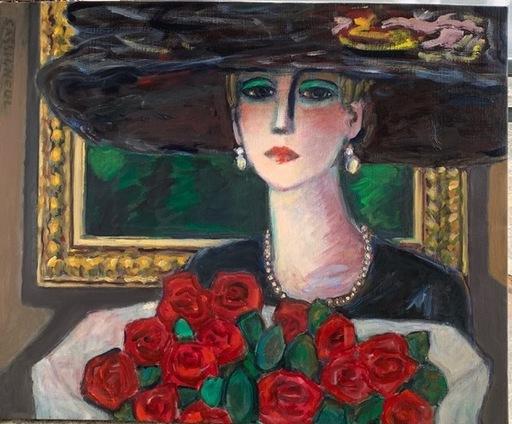 Jean-Pierre CASSIGNEUL - Pintura - Le bouquet