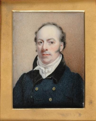 "John Cox Dillman ENGLEHEART - Zeichnung Aquarell - ""Thomas Douglas Earl of Selkirk"", early 19th Century"