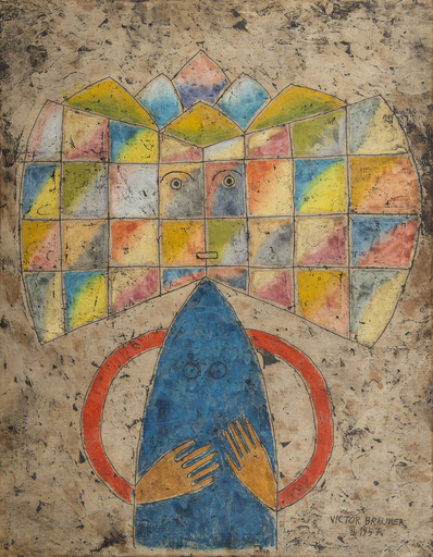 Victor BRAUNER - Pintura - Incandescence
