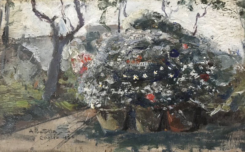 Attilio PRATELLA - Pintura - Capri - Impressioni