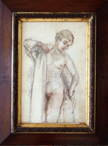 Henri GERVEX - Pittura - A sa Toilette/ Beim Ankleiden
