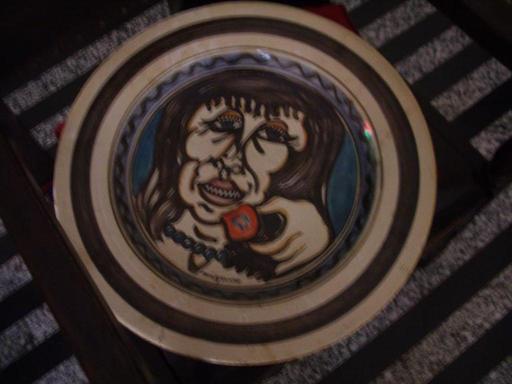 Giuseppe MIGNECO - Cerámica - volto con mela