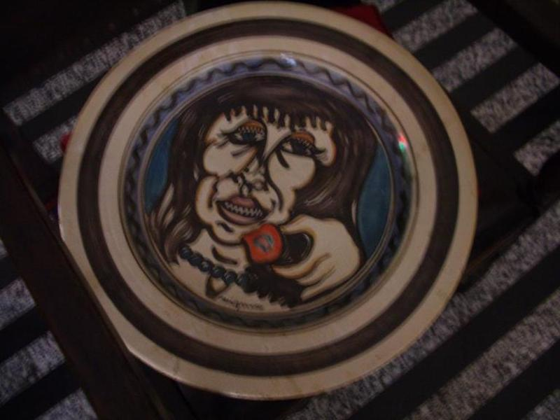 Giuseppe MIGNECO - Ceramic - volto con mela