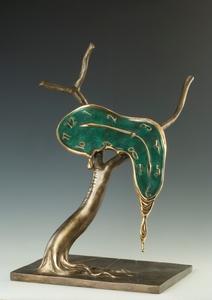 萨尔瓦多·达利 - 雕塑 - Profile of Time, Profil du temps