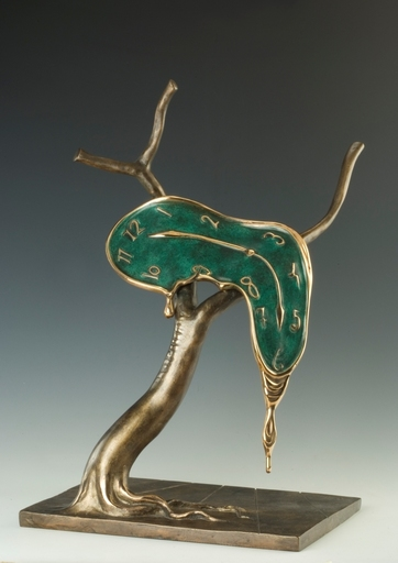 Salvador DALI - Sculpture-Volume - Profile of Time, Profil du temps
