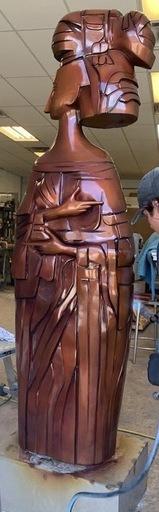 Cundo BERMUDEZ - Sculpture-Volume - Geyser