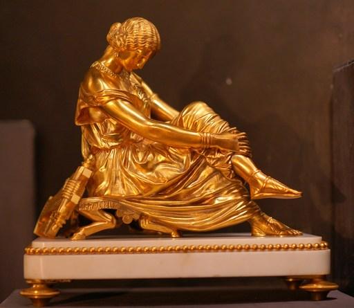James PRADIER - Sculpture-Volume - Sapho