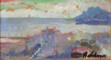 Henri Baptiste LEBASQUE - Painting - Cannes, Le Suquet