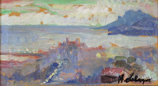Henri Baptiste LEBASQUE - Pittura - Cannes, Le Suquet