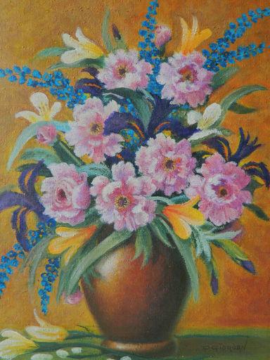 Raoul GIORDAN - Pintura - NATURE MORTE - STILL LIFE