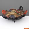 James, Jim LEEDY - Ceramiche - Early James Leedy Sculptural Platter