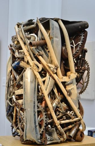 凯撒·巴达奇尼 - 雕塑 - Compression de vélos