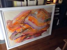 Jean MESSAGIER - Painting - L'été en hiver