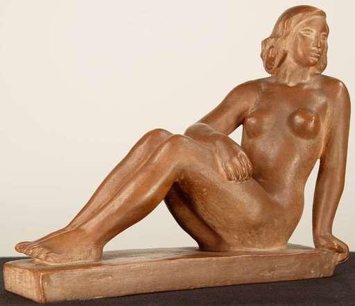 Bretislav BENDA - Keramiken - Reclining Nude