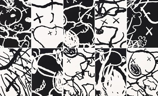 KAWS - Estampe-Multiple - Man's Best Friend (set of 10)