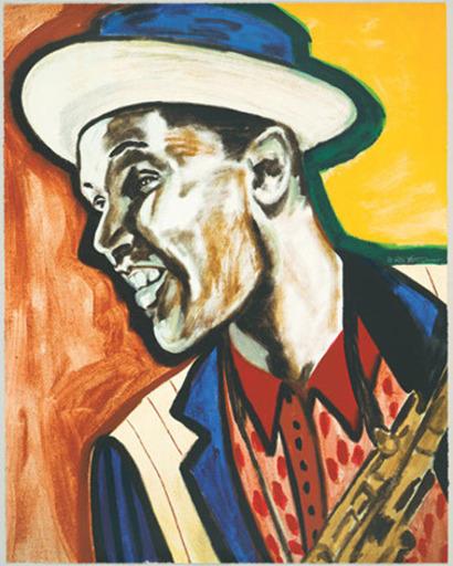 Frederick James BROWN - Print-Multiple - Dexter Gordon