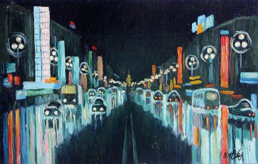 Valeriy NESTEROV - Pintura - Khudozhestvenniy cinema. Leningrad