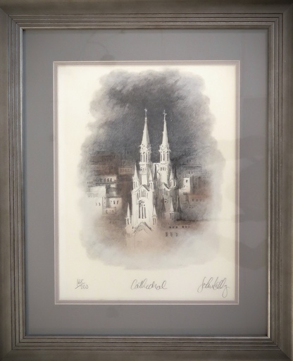 John KELLY - Print-Multiple - Cathedral