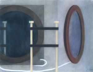 Slav NEDEV - Dibujo Acuarela - Remains of an Experiment 1