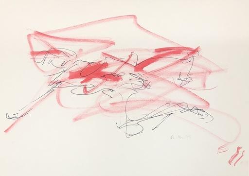 Nicole LEIDENFROST - Zeichnung Aquarell - Akt Nr.