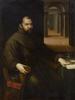 Lavinia FONTANA - Peinture - Portrait of Fra Francesco Panigarola (1548-1594)