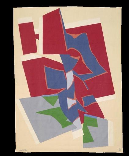 Richard MORTENSEN - Tapiz - Composition