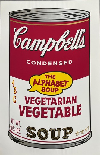 Andy WARHOL - Stampa-Multiplo - Campbell's Soup II, Vegetarian Vegetable F&S II.56