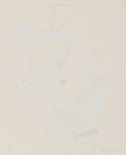猪熊 弦一郎 - 版画 - XO