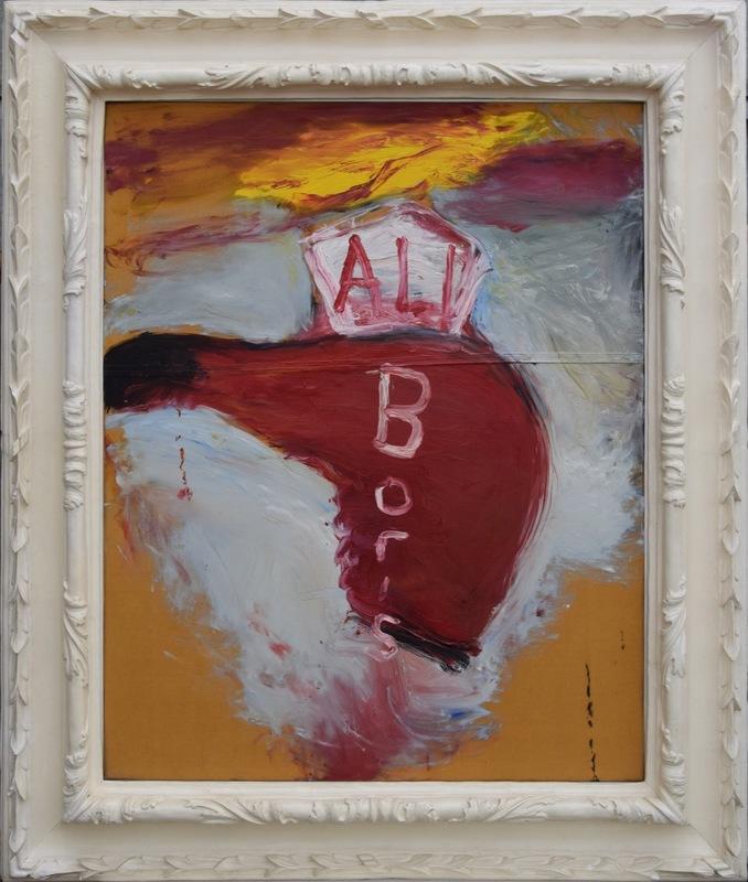 Julian SCHNABEL - Gemälde - Ali Boris