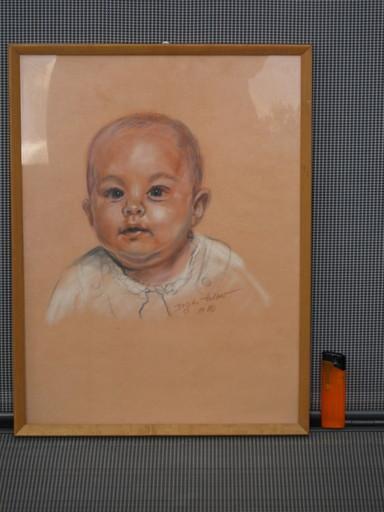 Brigitte HOLZER - Dibujo Acuarela - Baby